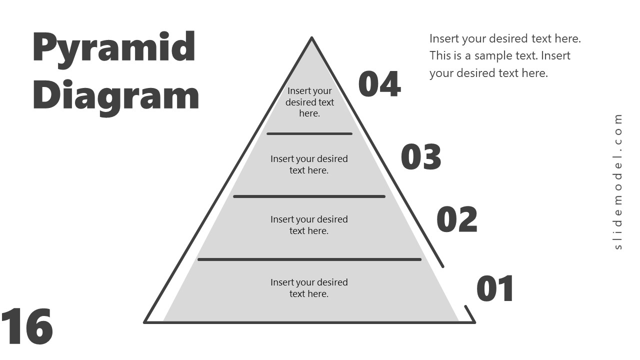 PowerPoint Diagram of Pyramid