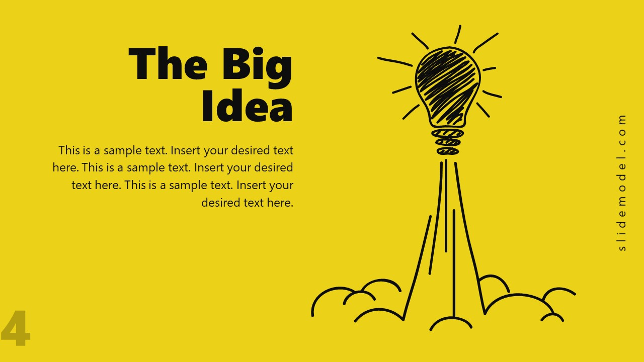Startup Big Idea Pitch Deck