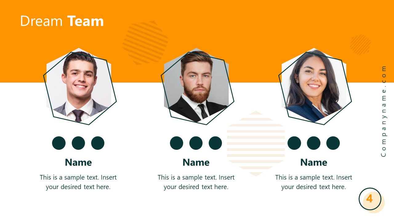 Startup PowerPoint Presentation Executive Team