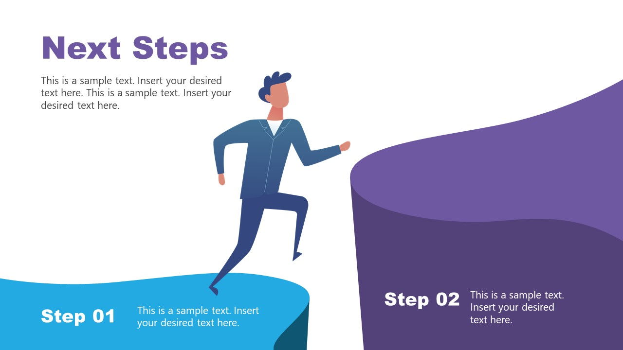 2 Steps Hiking Diagram for Next Steps