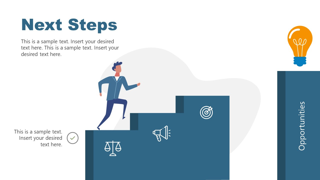 Slide of Step 1 to Stairs of Opportunities