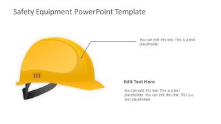 PowerPoint Slide of Helmet for Wokers