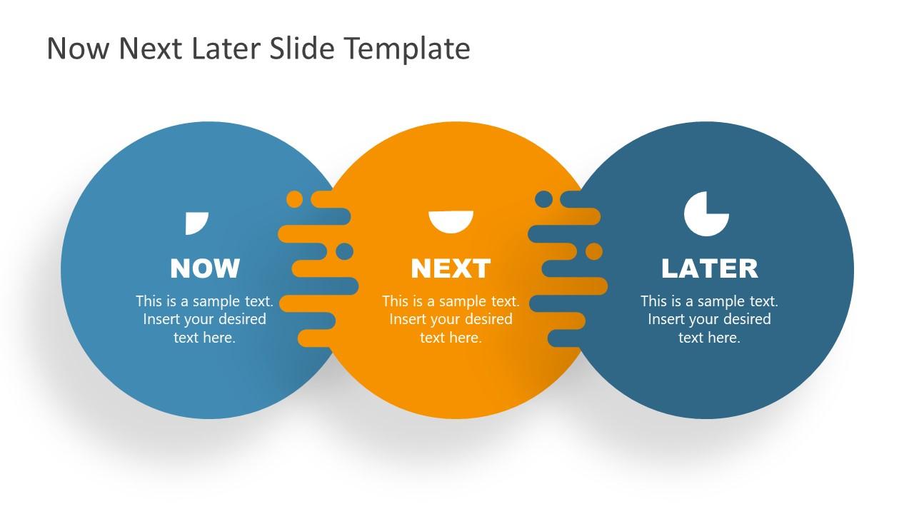 Presentation of 3 Steps Roadmap Circles Diagram