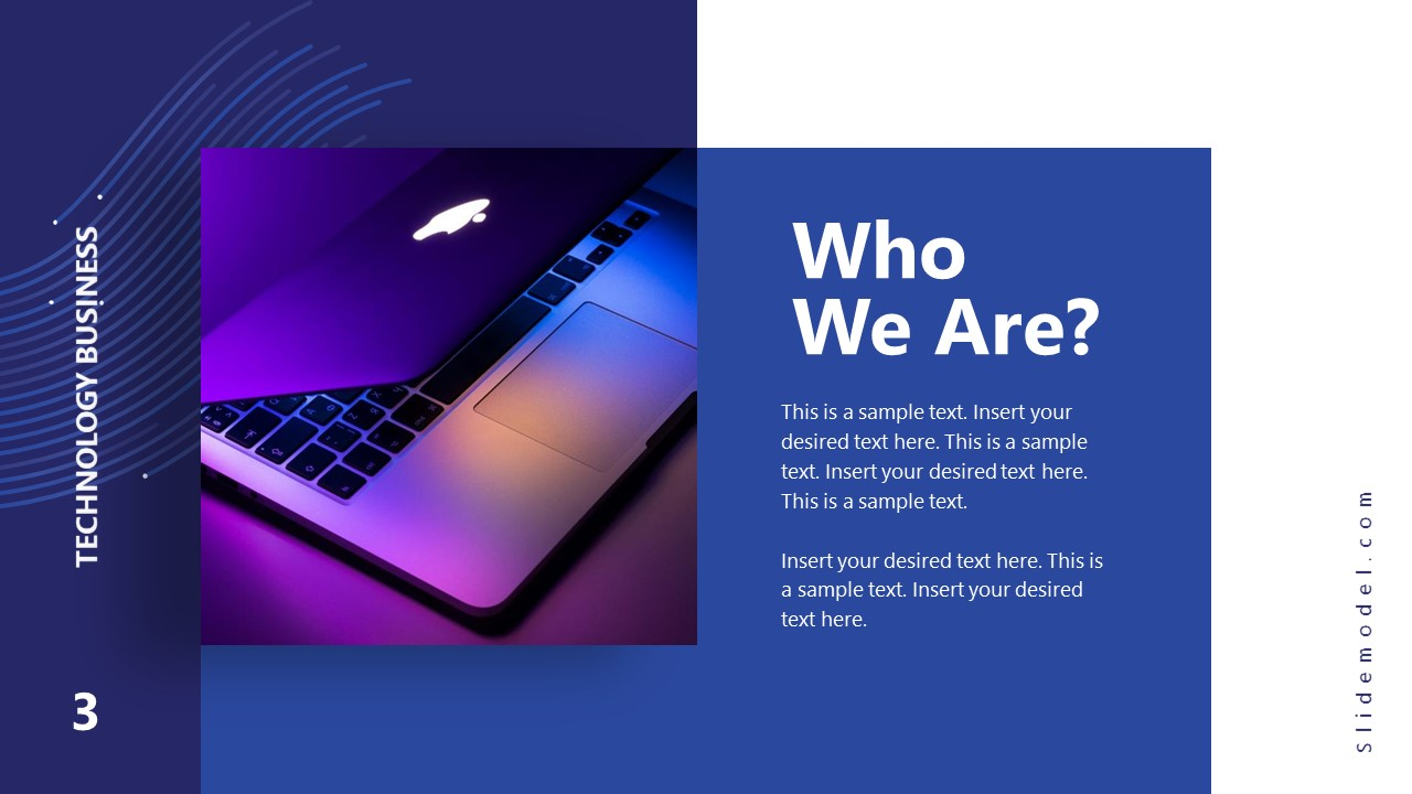 Business PowerPoint What We Do Technology Slide