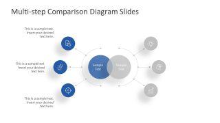 3 Steps Blue Side Comparison Template