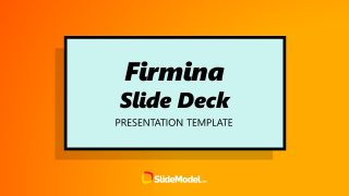 Yellow Theme Firmina Cover Template
