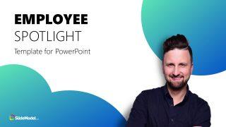 Team Spotlight PowerPoint Layout
