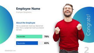 Skill Measuring Employee Spotlight Template