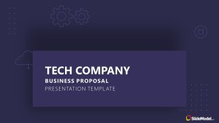 Cover Slide of Technology Proposal
