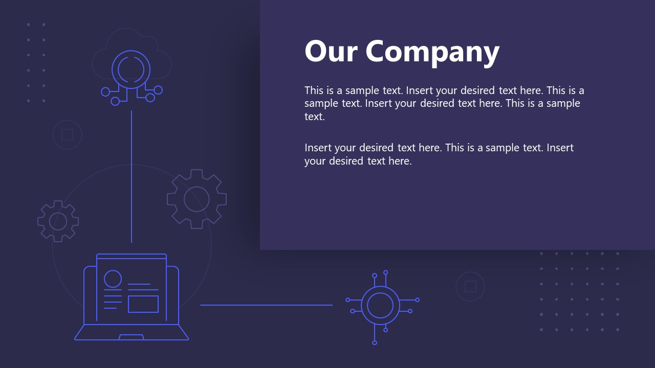PPT Technology Proposal Our Company Template