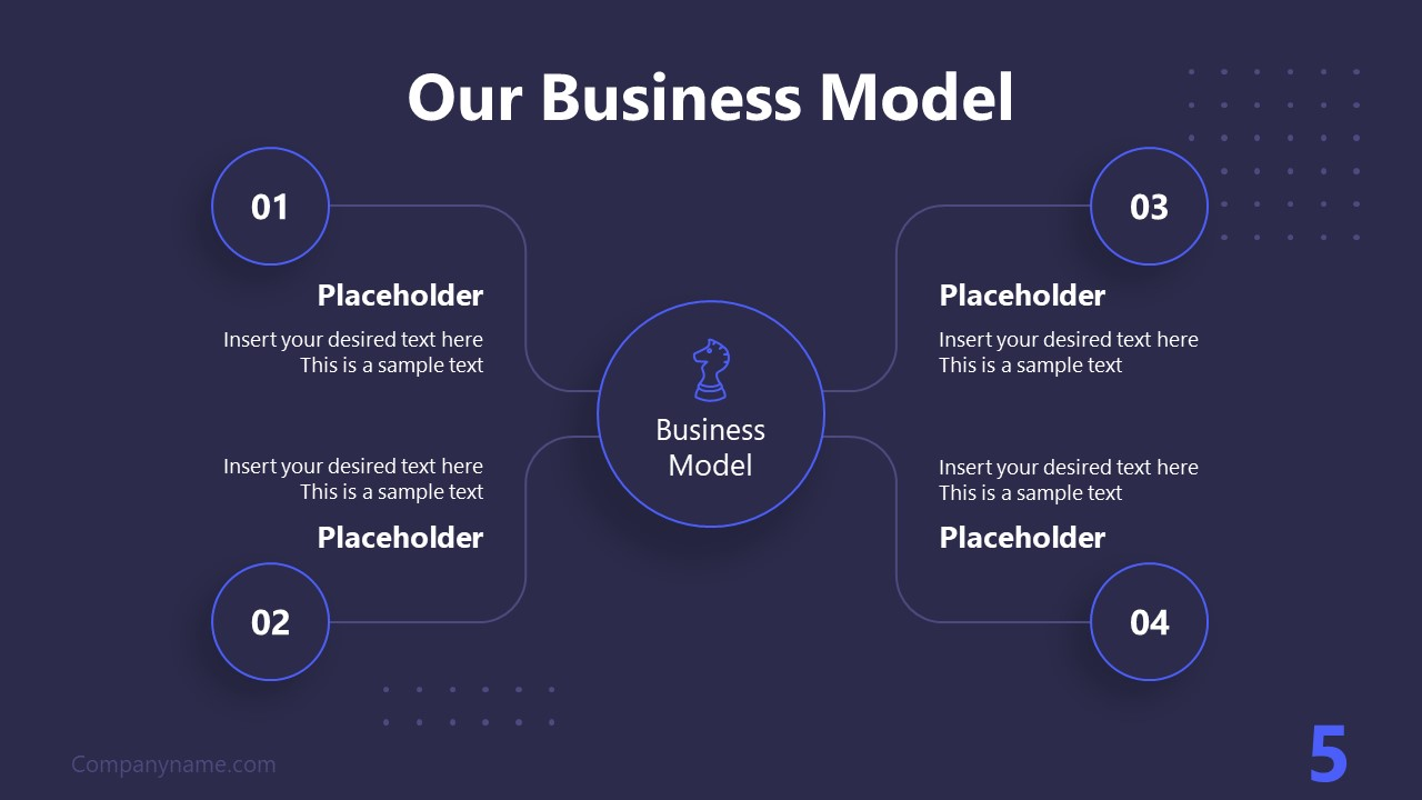 PPT Technology Proposal Our Business Template