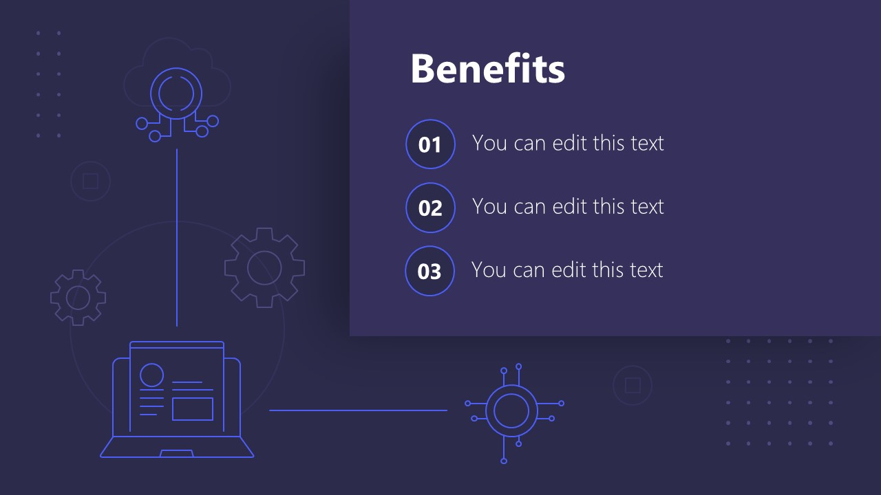 PPT Technology Proposal Benefits Template