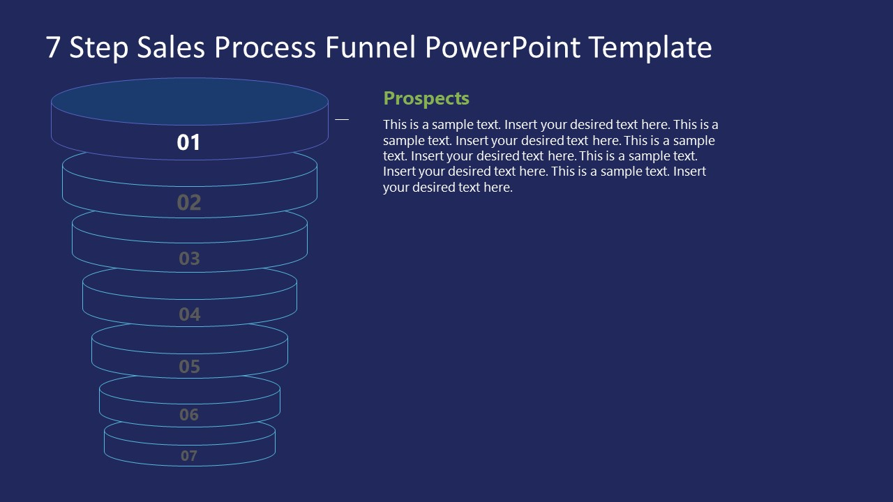 Funnel Sales Process Prospect Stage Template