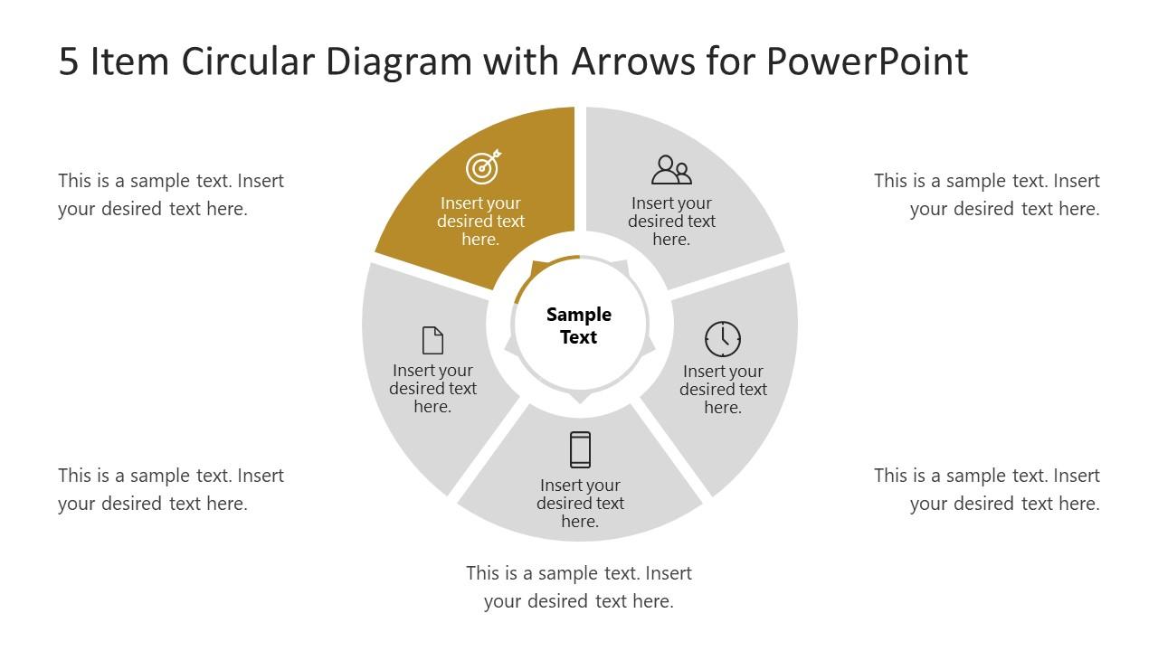 PowerPoint Circular Diagram Step 5