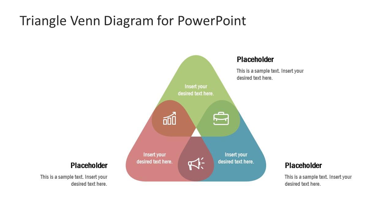 3 Segments Venn Diagram PPT