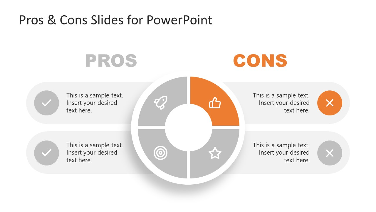 Presentation of 1 Disadvantage in Pros and Cons