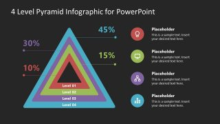 PPT Infographic Diagram Pyramid Template