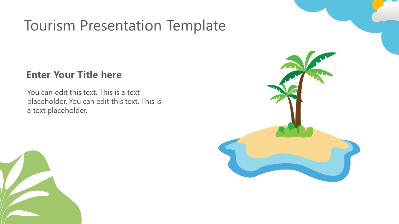 Travel Packages Template for Beach