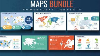 Editable PowerPoint Maps of Continents