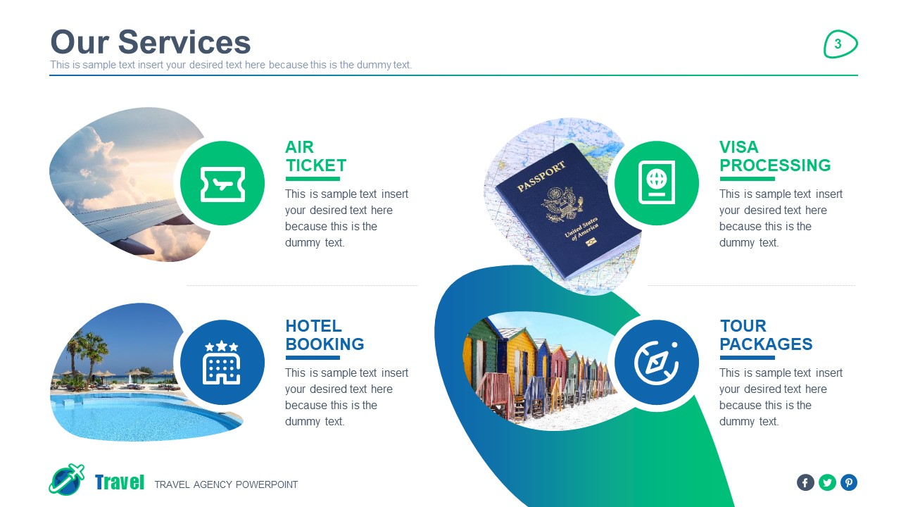 PPT Travel Agency Our Services