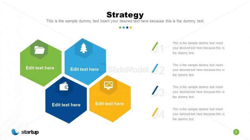 Startup Strategy PowerPoint Slide