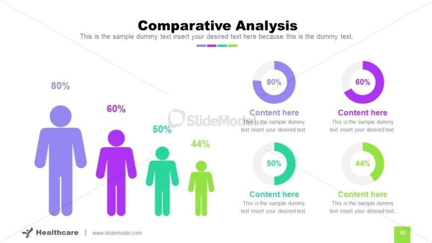 Comparison Graphics Data-Driven Chart