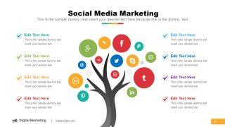 Tree of Social Media Platforms