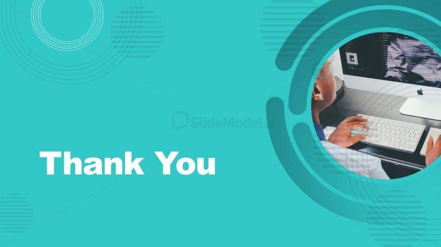 Thank You Slide of Company Profile