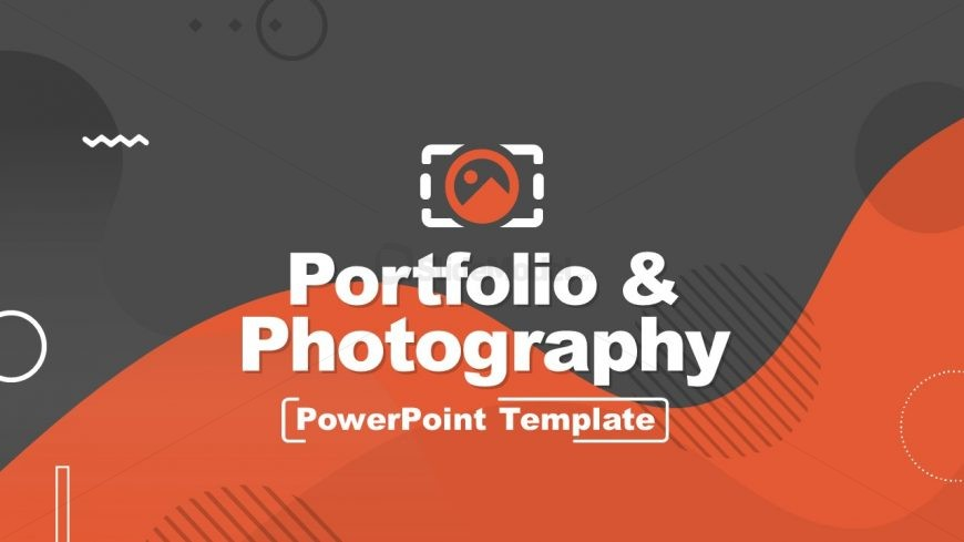Cover Slide of Portfolio & Photography