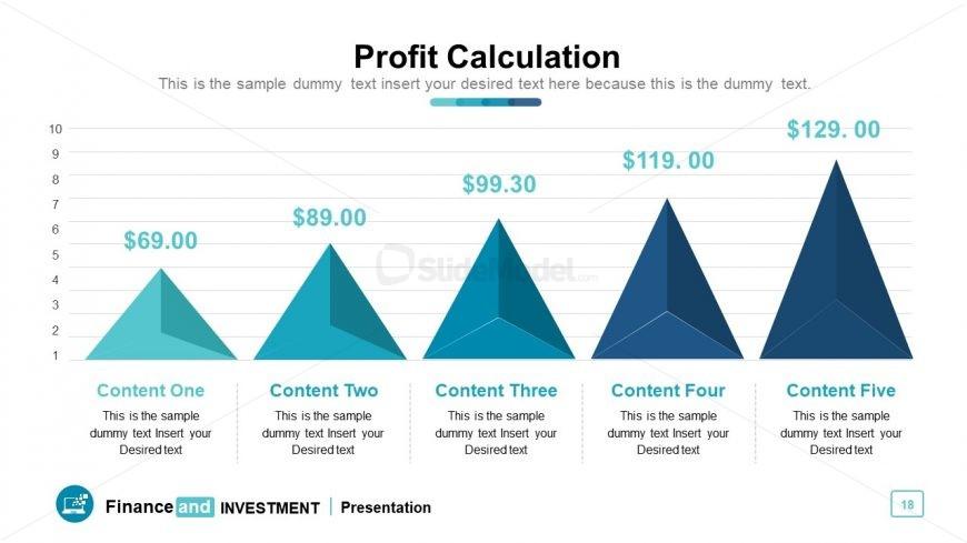 3D Pyramid style bar chart design