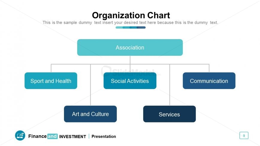 Flat hierarchical workflow for Org Chart