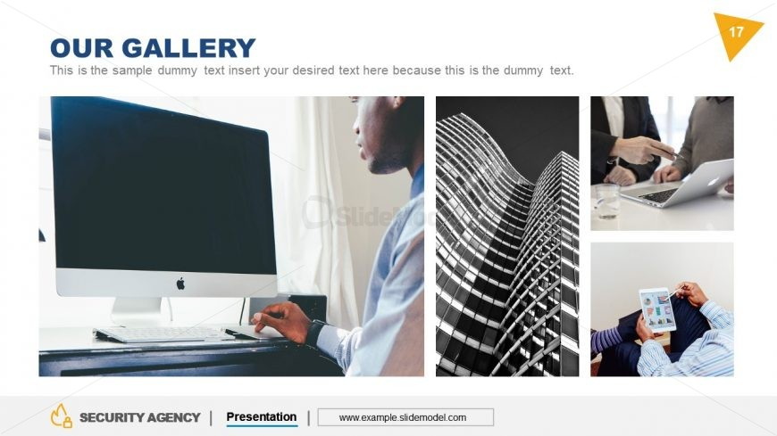 Gallery Grid Template Security Agency
