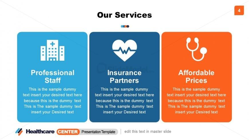 3 Segments of Healthcare Center Services