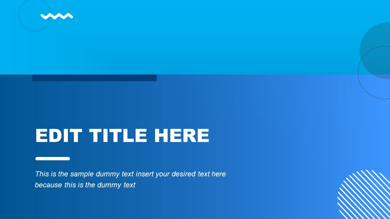 PowerPoint Background Blue Theme