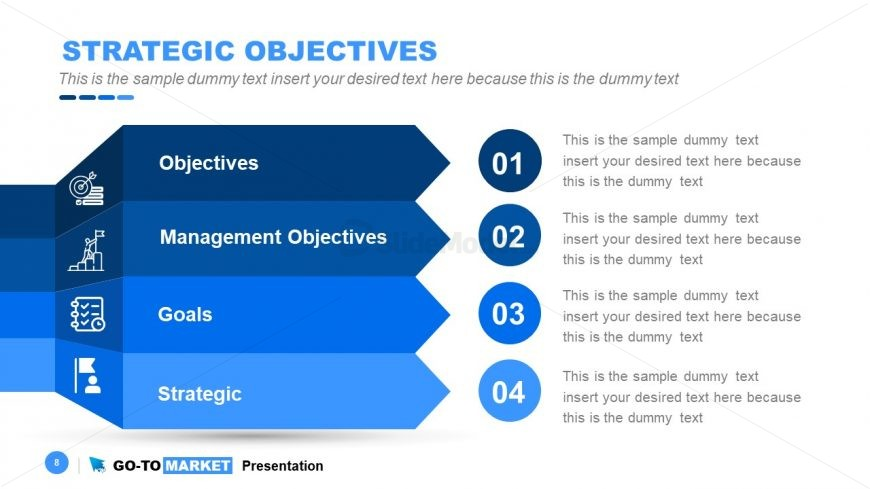 Agenda PowerPoint Template Go-To Market