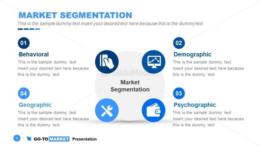 Model of Go-To Market Segmentation