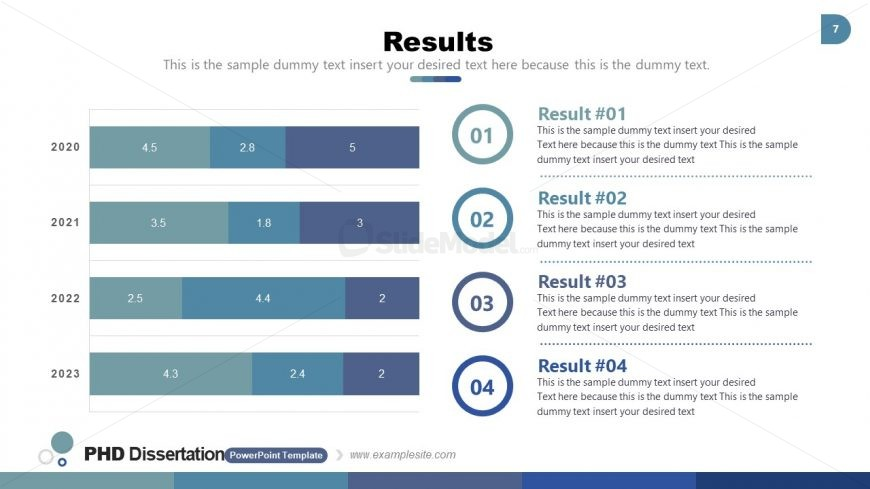 Results Data-Driven Reports PPT