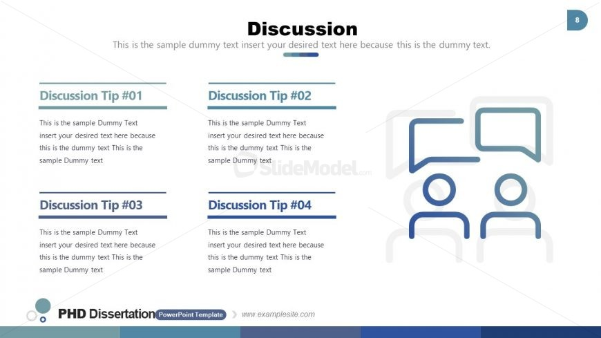 4 Sections for Discussion