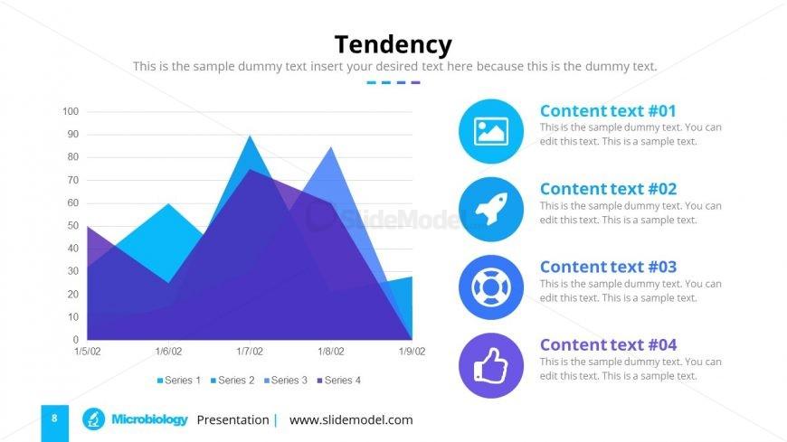 Slide of Data Area Chart
