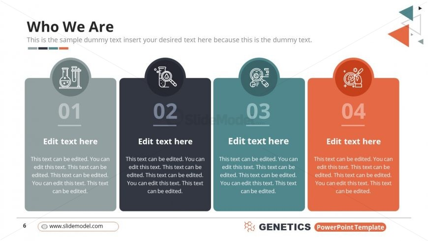 4 Column Segments for Genetics