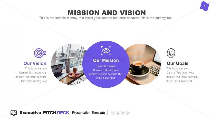 Mission and Vision Slide