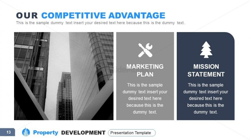 Business Competitive Analysis Template