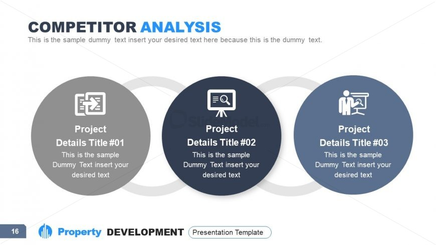 PPT Competitor Analysis Diagram