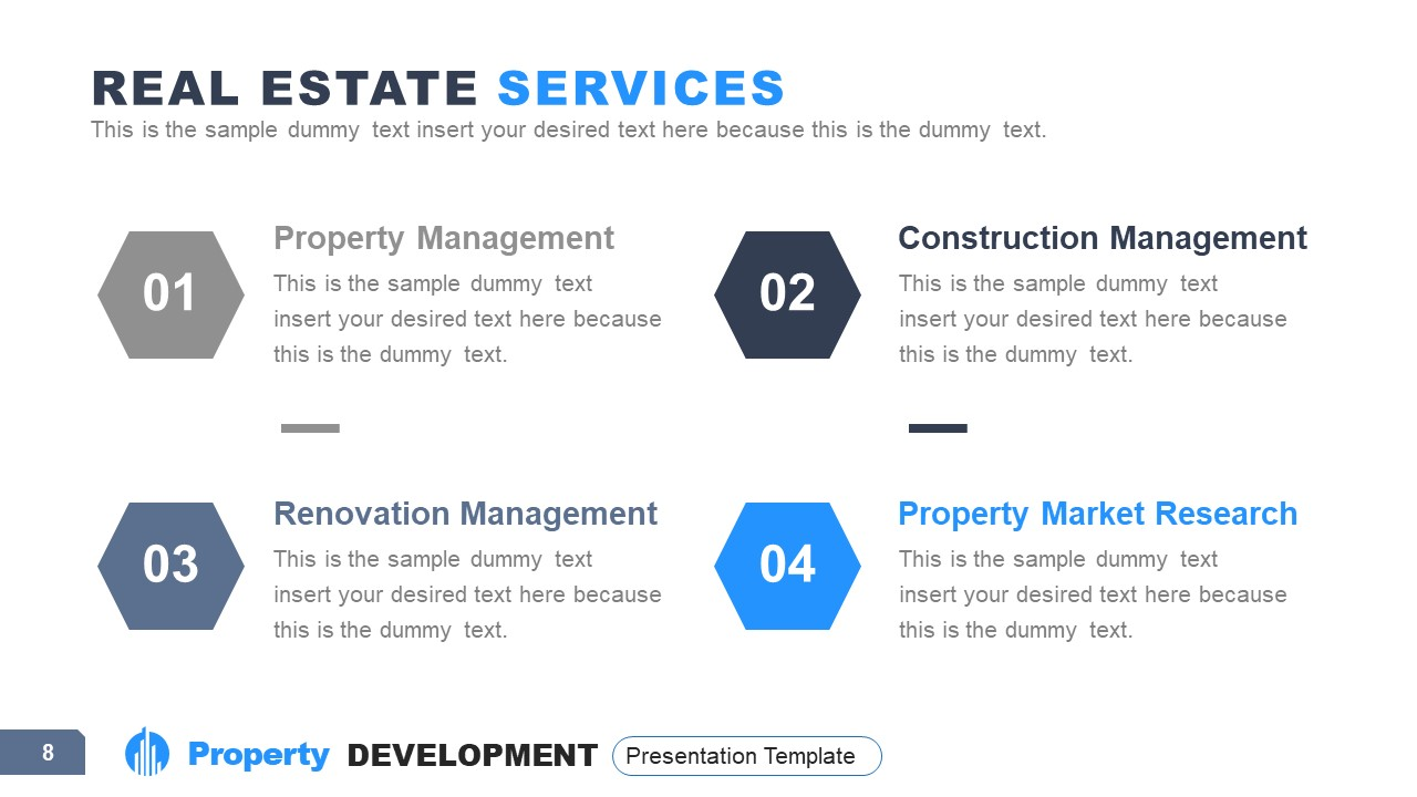 PowerPoint Property Development Services