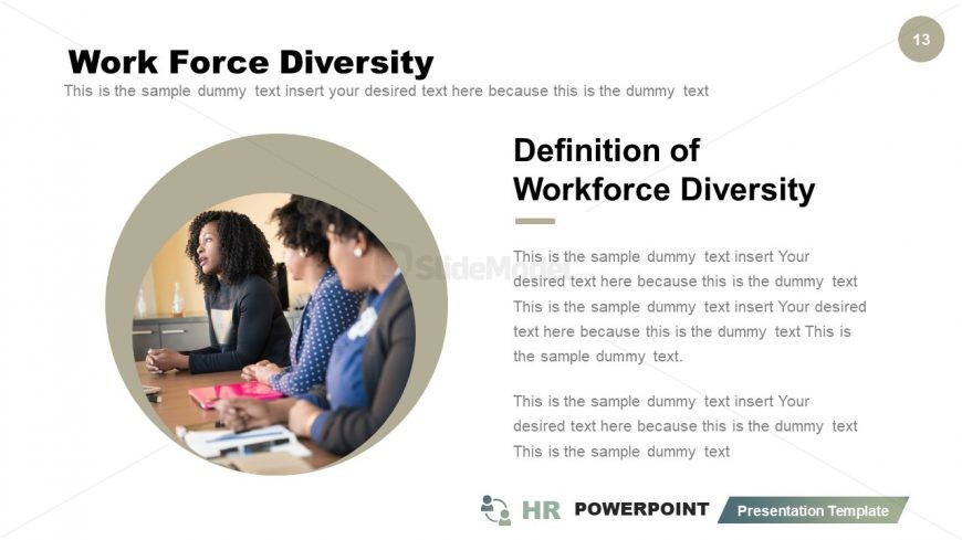 Slide for Workforce in Organization