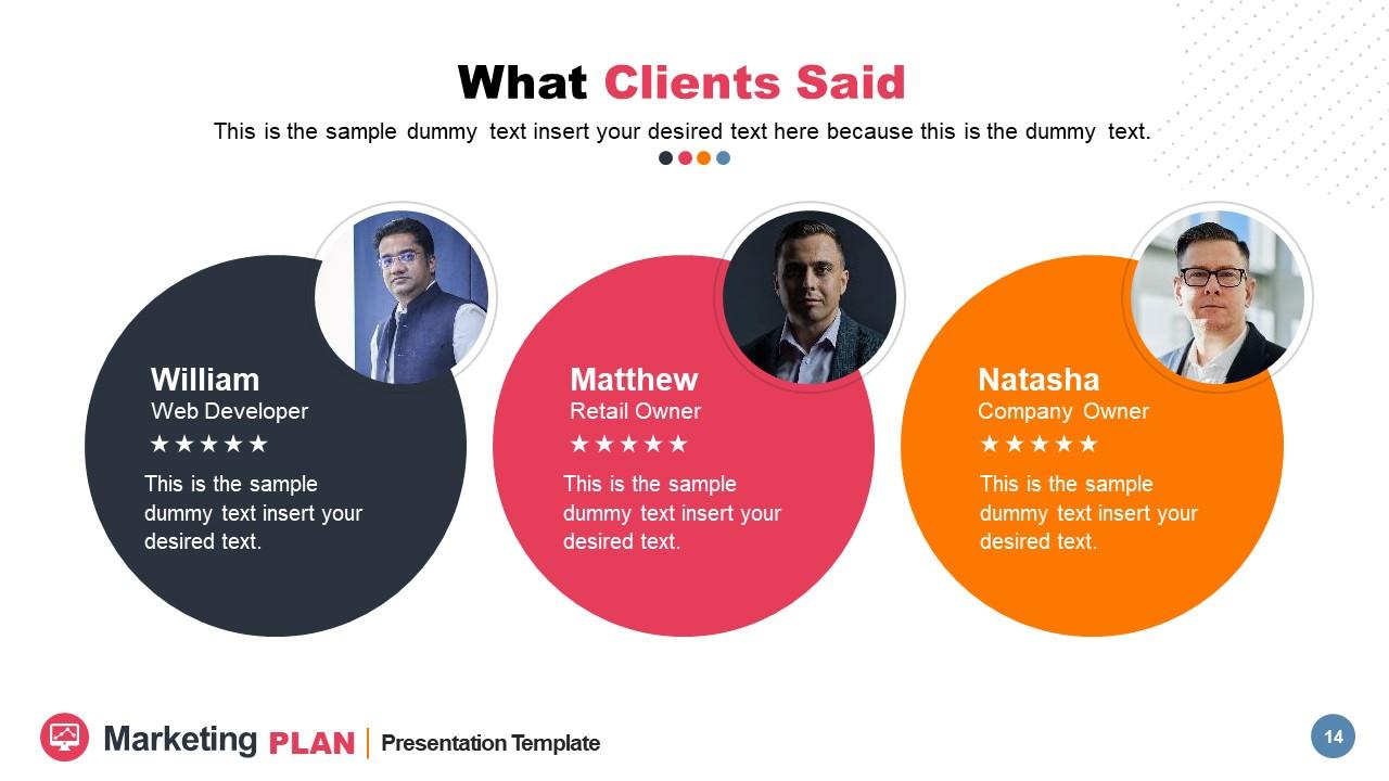 3 Client Review Segments