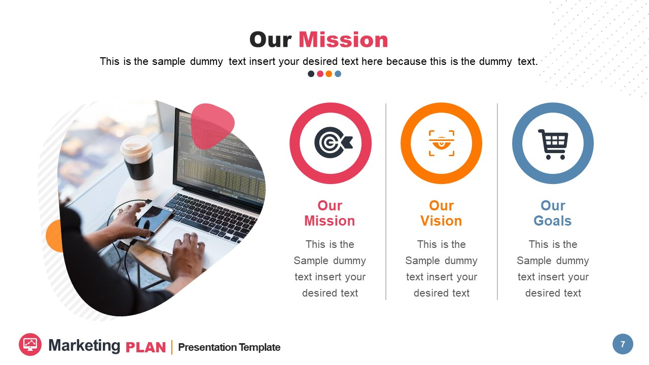 3 Segments of Company Vision Mission and Values