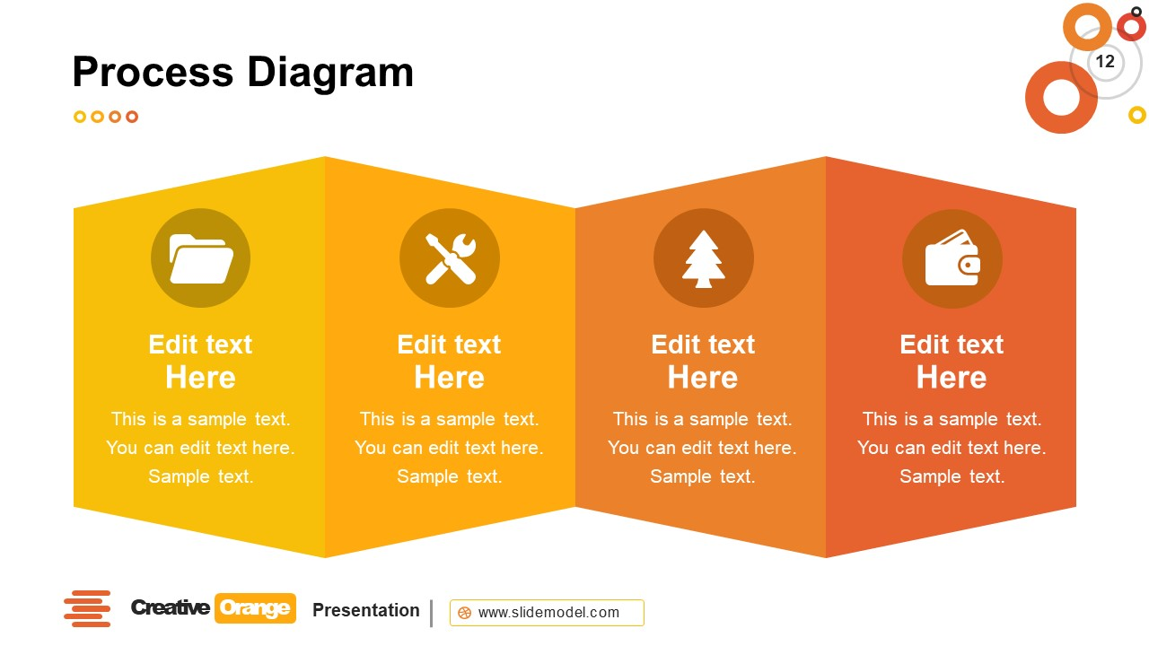 Process Diagram PowerPoint Layout