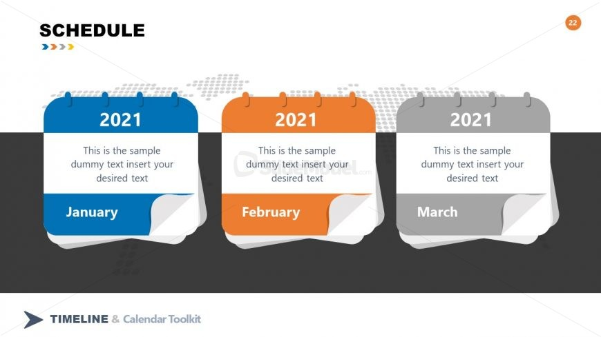 PPT Schedule Design Timelines and Roadmap Toolkit