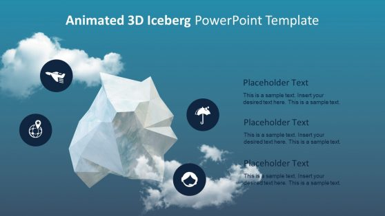 Unique 3D Animated Iceberg